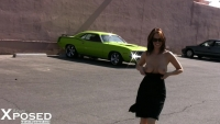 Nikki Nova Gets Hot For a Muscle Car